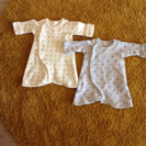 ツーウェイオール 2枚セット 新生児