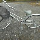 27インチ 銀色 シティー自転車