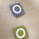 iPodシャッフル2個