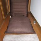 ニトリの座椅子とカバー