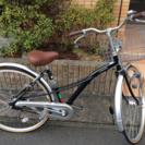 美品 オートライト 自転車