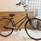 27インチ 中古自転車 パープル