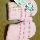 新品タグ付き キティちゃん手袋