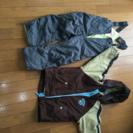 子供用スキー、スノボウェア110サイズ