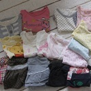 【お取引中】サイズ80女児服16枚