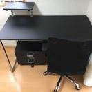 パソコンデスクセット プリンター台付き
