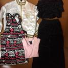 子供服(130〜140センチ) ジャンバー、キャミ&パンツセット、...