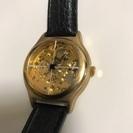 ゼンマイ式 腕時計 メンズ