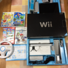 wiiとソフト数点セット!