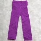 95 未使用 紫 スパッツ 90~100cm