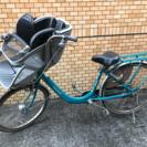 3月13日まで限定子乗せ自転車