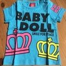 【子供服】新品 BABY DOLL 水色