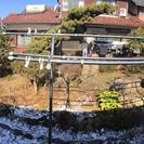 10万円出します!庭の整地を手伝ってください。