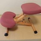 背筋矯正椅子です。宮武製プロポーションチェア (ローズ)