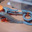 トミカワールド ビッグタワーサーキット シール未使用 トミカ4台付