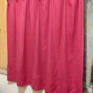 ピンクカーテン 110cm✖︎2枚
