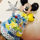 ディズニーミッキーバルーンオムツケーキ☆男の子出産祝い