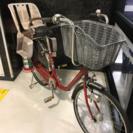 浦安から!軽整備済み ギアとオートライト付き 子供用自転車