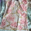セシルマクビー 薔薇柄トップス