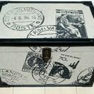 〇207 展示品 トランク収納BOX小
