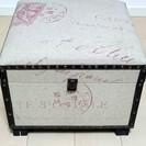 〇208 展示品 アンティーク風収納BOX