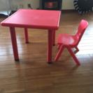 子供テーブルイスセット