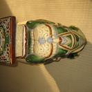 陶器製 像の置物