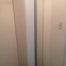 幅45cm 全身鏡付き白のシューズボックス
