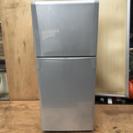 TOSHIBA 120L 2ドア冷凍冷蔵庫 YR-12T