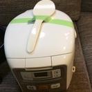 【激安・中古】炊飯器 2015年製 TIGER JAI-R550-W[