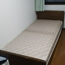 高級シングルベッド(フランスベッド)