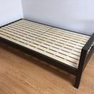 💕可愛い😍無印良品 シングルベッド