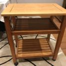 木製のサイドテーブルをお譲りします!