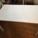 IKEA ダイニングテーブル、イスセット 白