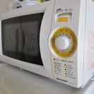 電子レンジ(単機能、2006年製、SHARP)