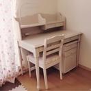 ローラアシュレイ学習机