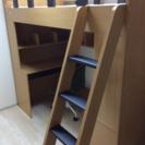 ニトリ システムベッド IKEA製マットレス付き