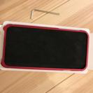 iPhone6 アルミバンパー レッド