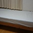 ばらし済み シングルベッドとマット 取りに来る方限定