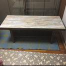 上品な大理石テーブル