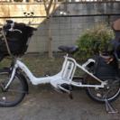 ブリジストンアンジェリーノ20インチ電動自転車