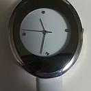 新品! かわいい時計 白い時計 ノベルティ