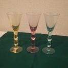 moser モーゼル ワイングラス3点