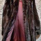 【美品・本皮】高級ミンクの毛皮 コート SAGA MINK サガミンク