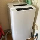 一人暮らし用の洗濯機 Haier 4.2kg