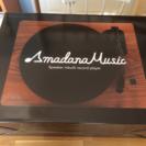 Amadana スピーカー内蔵型レコードプレーヤー
