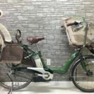 新基準 ブリジストン アンジェリーノ リチウム 電動自転車  子供乗せ