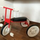 無印の 三輪車レッド 美品