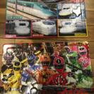 新幹線と、トッキュウジャーのパズル2個