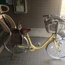 3人乗り自転車✖️イエロー✖️3段ギア